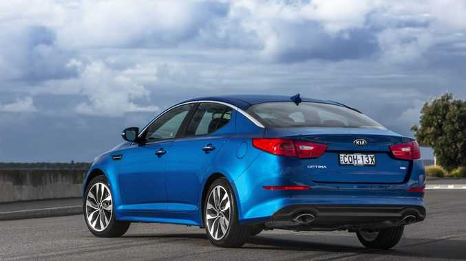 The new Kia Optima.